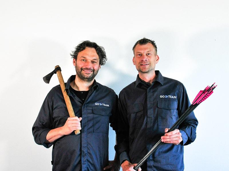 Anders og Steffen fra GoTeam - Teambuilding ApS